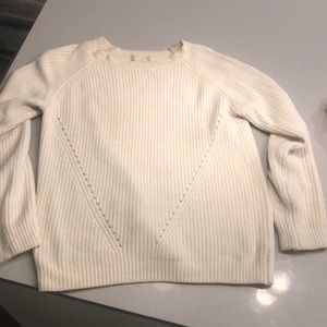 White Altar'd State Sweater SM -purchased 2018